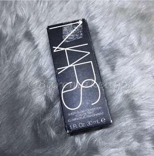 NARS sheer glow foundation in ceylan