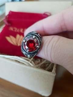 Pre order item arrived Stainless Steel Ring with Zircon