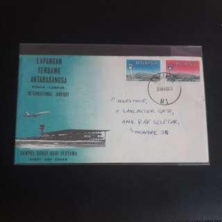 Malaysian 1965  First Day Cover