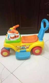 Fisher price 3-1 push N' scoot ride on