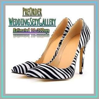 🚚 #[18]🌹⏺🅿🅾⏺🌹Women Pumps Snake Leopard Zebra Pattern Pointed Toe Thin Heels Shoes Woman Platform Shoes Designer Shoes Women Luxury