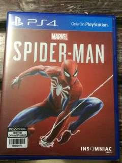 Spiderman for PS4 (used)
