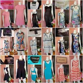 ⏳LIMITED TIME OFFER⏳ 🎉MEGA SALE🎉 GUARANTEED AUTHENTIC Take All Signature Brand Dresses PRADA D&G H&M GUCCI bebe Guess Marc Jacobs Plains & Prints Kendall & Kylie