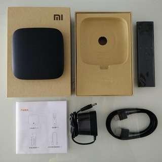 Xiaomi Mi Box 3 International Version (Only the Mi box 3 and Charger - no remote, no box)