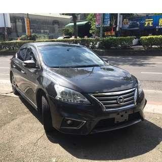 瑋哥車坊 正2016年Nissan Sentra超稀有AERO版!省油省稅不二首選~36.8萬實車實價 一手車 非自售!