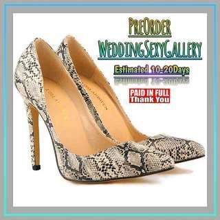🚚 #[19]🌹⏺🅿🅾⏺🌹Women Pumps Snake Leopard Zebra Pattern Pointed Toe Thin Heels Shoes Woman Platform Shoes Designer Shoes Women Luxury