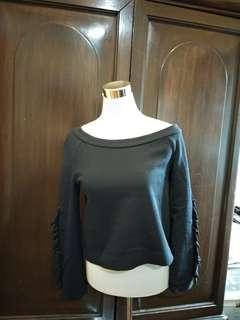 Zara Sweater with ruffles