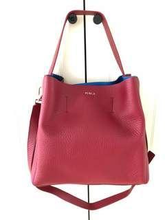 New Furla soft calf leather bag