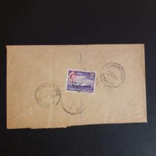 Singapore 1961 Airport Postmark covet
