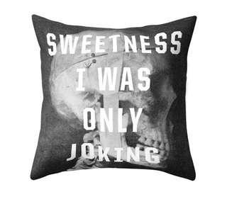 Brand New Skull Print Pillow Case feat The Smiths Song