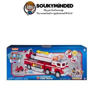[IN-STOCK] PAW Patrol - Ultimate Rescue Fire Truck with Extendable 2 ft. Tall Ladder, for Ages 3 and Up