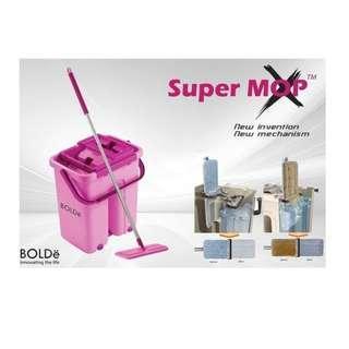 Alat Pel Modern Supermop X Asli Bolde Original
