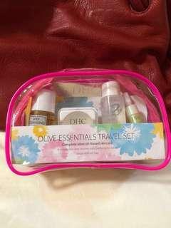 DHC Olive Essentials Travel Set