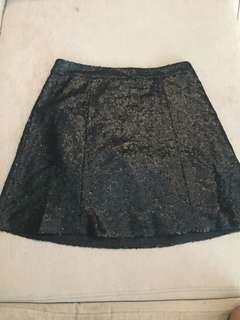 Nightout sequinned skirt