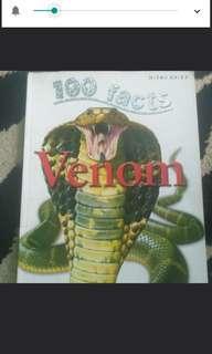 """100 facts """"Venom"""" buku berbahasa inggris diskon"""