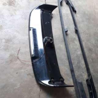 Daihatsu move L9 kenari spoiler limited sekali roof rack