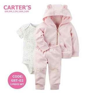 Carter's Baby 3pc Cardigan Set - GST02