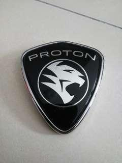 Proton inspira emblem and engine cover