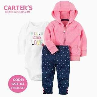 Carter's Baby 3pc Cardigan Set - GST04