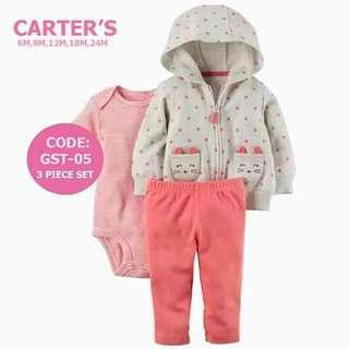 Carter's Baby 3pc Cardigan Set - GST05