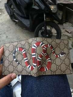 Kingsnake print GG Supreme wallet