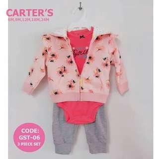 Carter's Baby 3pc Cardigan Set - GST06