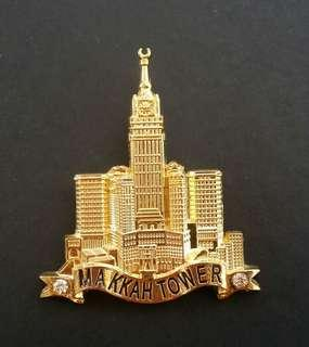 FRIDGE MAGNET MAKKAH TOWER