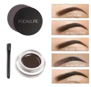 Eyebrow dipping gel