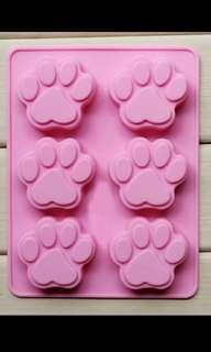 Silicon Paw Mould