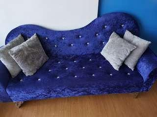 Diamond bling bling sofa