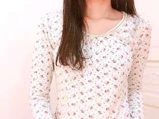 9.9成新😍專櫃iiMK日系花園100%棉長袖上衣