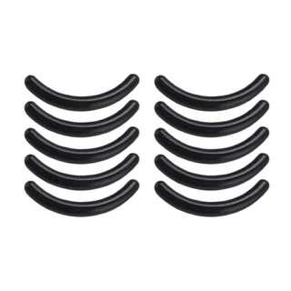 5Pcs Women's Eyelash Curler Pad Rubber Eyelash Clamp Replacement Clip Pads