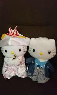 絕版 Mc Donald Hello Kitty 結婚公仔 (日本)