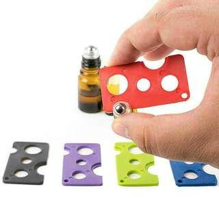 1pc Essential Oil OpenerRemover Corkscrew Roller Balls And Caps Bottles