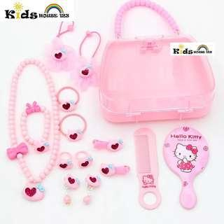 🚚 Lovely Kitty (Handbag Design) Jewelry / Hair Accessories Gift Set for Girl A053