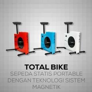 Sepeda fitnes Statis - Magnetik PALING BAGUS TL-8806 NANO Bike Termurah