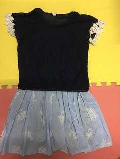 Lady Dress (1 Piece) 連身裙!可愛、青春、活力、自然!靚質料!Young & sweet! Good quality!
