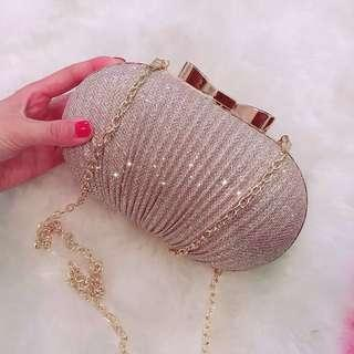 Glitter Oval Egg Clutch - FREE SHIPPING