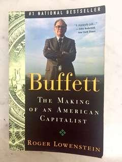 Buffett: The Making of an American Capitalist Paperback –   by Roger Lowenstein