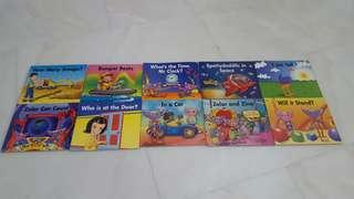 Books for toddlers -emergent pink