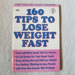 160 Tips To Lose Wieght Fast