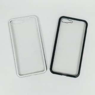 <iPhone 7 / 8 Plus>**全新翻貨** 萬磁王360°全包磁性玻璃殼