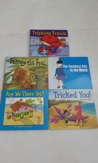 Books for toddlers - fluency green