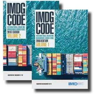 IMDG Code 2018 Edition Amendment 39-18 IMO Books