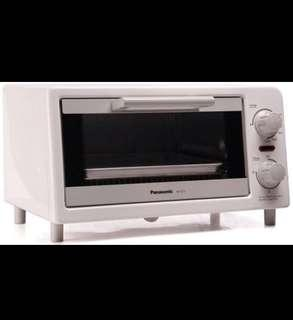 抵‼️Panasonic Mini Oven 小焗爐 (NT-GT1) 原價$328 搬屋平售$220‼️(Size & 詳情:請看照片x 9)超新淨!Very very clean! (Very small size, but 1200 W)