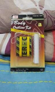 Body Outline Kit - Dead Body Prank