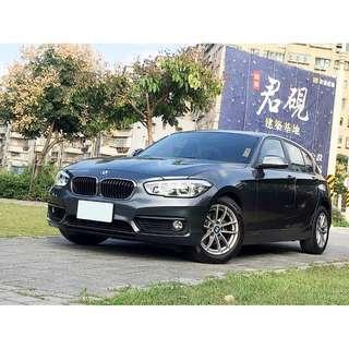 自售 總代理 2016年 BMW 118I 代女性友人出售目前依然使用車 因為想換休旅車售出 車況佳 全額貸!