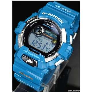 CASIO G-SHOCK GWX-8900K-3JR Love The Sea And The Earth Japan Multi-band 6 Genuine New Blue