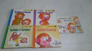 Bubbles first storybooks