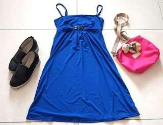 Blue Dinner Dress